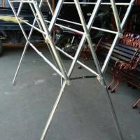 Dijual TERBARU Jemuran Baju Stainless Steel 180cm jemuran paka Diskon