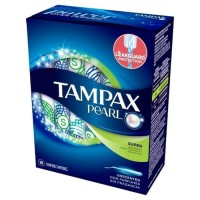 Tampax Pearl Super Tampon 18 pcs Unscented