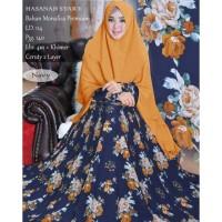 Baju Gamis Wanita Terbaru LG syari Hasanah