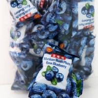 Manisan Buah Plum Basah Rasa Blueberry Packing Spesial