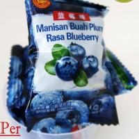 Manisan Buah Plum Rasa Blueberry Packing Spesial ( KILOAN / CURAH )