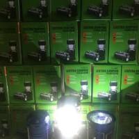 promo Unik Lampu Emergency Solar Lentera Tarik Senter Po