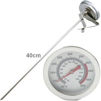 Frying Thermometer Stainless Steel Analog 40cm Ukur Suhu Minyak Air
