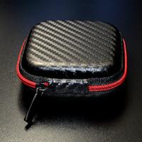 Tempat Headset Case Pouch Earphone Data Cable Case Box Premium