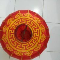 jual hiasan gantung imlek lampion kain chinese new year