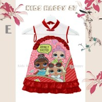 Dress Fashion Anak Cheongsam LOL Doll Pink