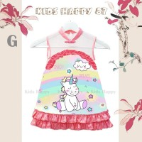 Dress Fashion Anak Cheongsam Unicorn