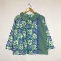 Atasan blouse batik wanita jasmin blouse