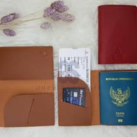 Passport Case souvenir pernikahan termewah termurah free emboss pack