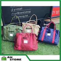 B149 Tas Wanita Tas Travel Tas Olahraga Shoulder Bag Tas Bahu Wanita - Merah