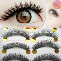 Bulu Mata Palsu Natural Soft Handmade 10 pasang soft♮ eyelash