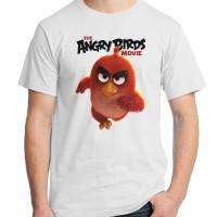 Jual Angry Birds 08 - Red Game Kaos Distro Ordinal Murah