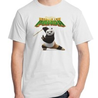 Jual Kung Fu Panda 14 - Po Film Kartun Cartoon Kaos Distro Ordinal Murah