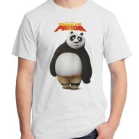 Jual Kung Fu Panda 01 - Po Film Kartun Cartoon Kaos Distro Ordinal Murah