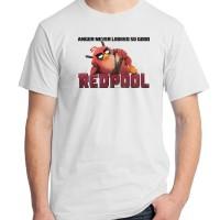 Jual Angry Birds 18 - Redpool Deadpool Red Game Kaos Distro Ordinal Murah
