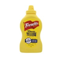 FRENCH'S YELLOW MUSTARD 396GR - CLASSIC YELLOW MOSTARD PASTE - MUSTAR