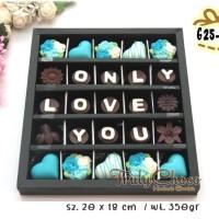 hadiah valentine coklat trulychoco isi 25