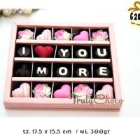 hadiah valentine coklat trulychoco isi 20