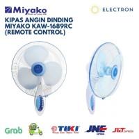 Kipas Angin Dinding / Wall Fan Miyako KAW-1689RC 16 Inch with Remote