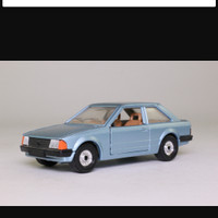 Corgi 334; 1980 Ford Escort MkIII; Blue Metallic Corgi: No.334