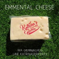 emmental cheese - keju - melted cheese