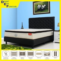 Kasur Auckland 200x200 - Romance Sping Bed (Full Set)