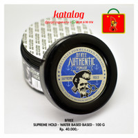 Water Based Pomade BFREE Supreme Hold 100 Gr