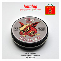 Clay Oil Based Pomade The Rod Rabbit Natural Pomade