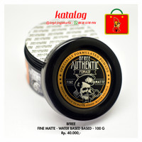 Water Based Pomade BFREE Fine Matte 100 Gr