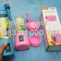 USB Juicer Blender Rechargeable Portable Jus Buah Travel Shake n Take