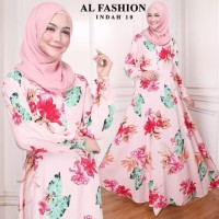 Gamis Maxi Indah 10 Baju Muslim Wanita Baju Gamis Murah