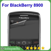 LCD Screen Protector for BlackBerry 8900 With Anti-Glare - -H1899