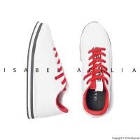 SALE - ASHLEY Sneakers Wanita Casual White Putih