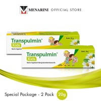 Transpulmin Kids Balsam Special Package 2 pc - @20gr