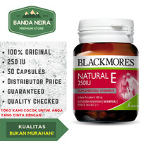 Blackmores Natural Vitamin E 50 Kapsul 250 IU