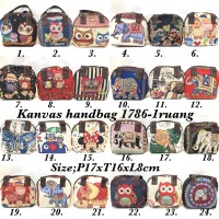 Hand bag mini import / tas jinjing mini thailand gajah owl