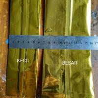 Harga pembungkus makanan aluminium foil ukuran kecil gold | antitipu.com