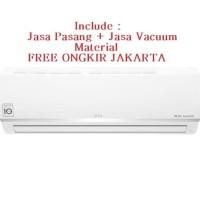 PROMO AC LG DUAL COOL SMART 1/2 PK E-06SV3 (FREON R