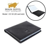 DOMPET KARTU CARD HOLDER KULIT ASLI IMPORT BRANDED | BRAUN BUFFEL CC02