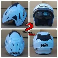 Helm Double Visor SNI Replika Helm INK T1/ CX22 - Putih / White