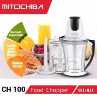 Mitochiba Food Chopper CH100 1.5L Multi Blender Chopper Ice Crusher