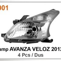 Harga head lamp lampu depan avanza veloz 2012 | Pembandingharga.com