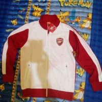Jaket Arsenal Putih 2014/2015