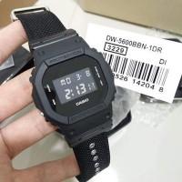 JTP Jam tangan Pria Casio G-shock DW-5600BBN-1D Original garansi resmi