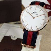 Jam tangan Daniel Wellington Oxford 36mm rosegold #original