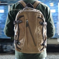 Rumbler / Canvas Bag / Backpack / Ransel / Tas Punggung