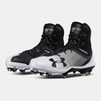 Sepatu Under Armour Baseball High Buat Pria Bnib Original