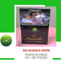 Rokok Herbal SIN Nashuha