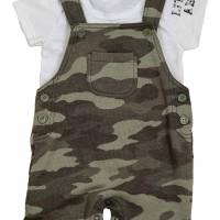 Baju Anak Laki-Laki Torio Mommy's Lil Soldier Overall Set