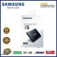 Samsung T5 Portable SSD - 2TB : USB 3.1 External SSD (MU-PA2T0B)